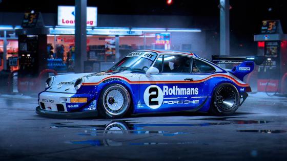 Porsche 911 RWB wallpaper