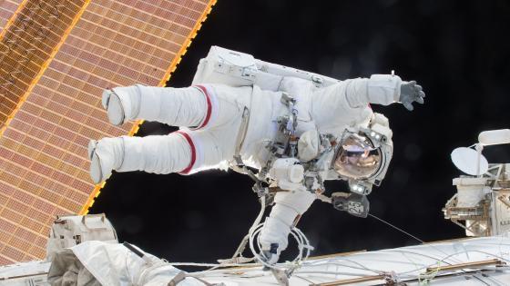 Astronaut Servicing wallpaper