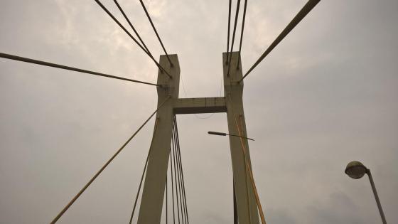 Aldona bridge of goa wallpaper