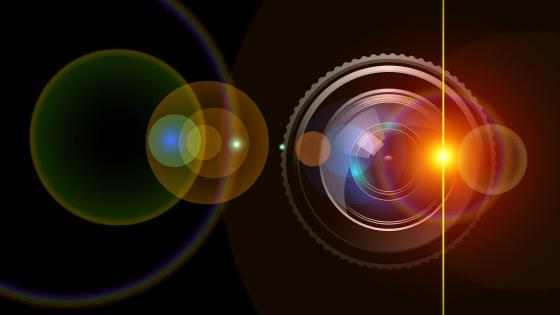 Lens Flare wallpaper