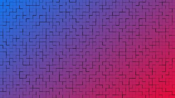 Gradient brickwork pattern wallpaper