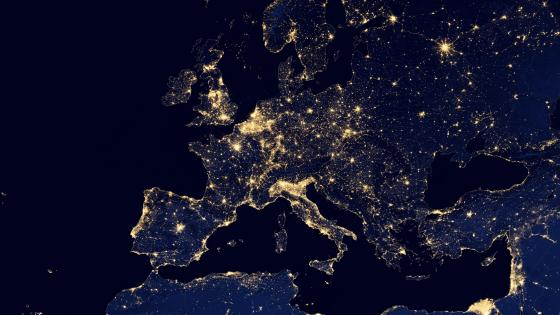City Lights of Europe wallpaper