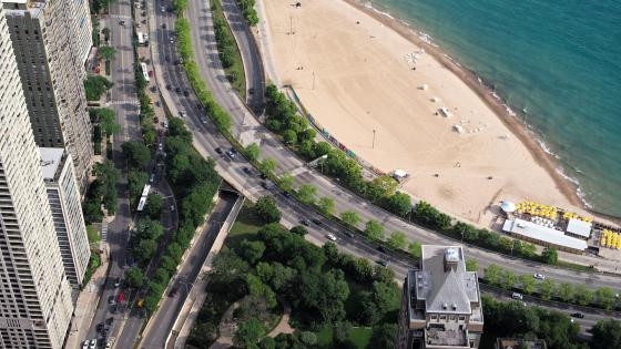 Lake Shore Drive wallpaper