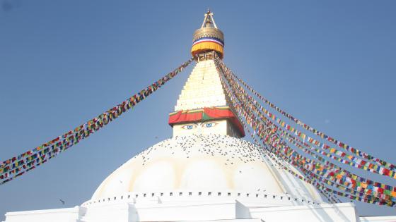 Stupa wallpaper