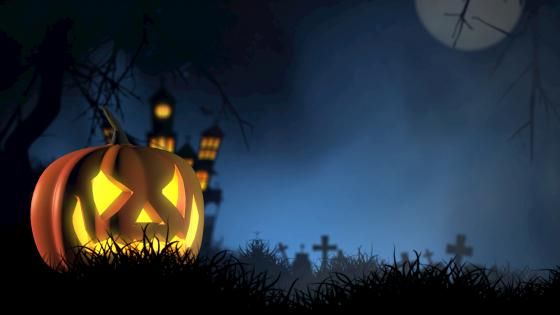 Halloween pumpkin lantern 🎃 wallpaper