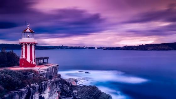 Hornby Lighthouse (Sydney Harbour National Park) wallpaper