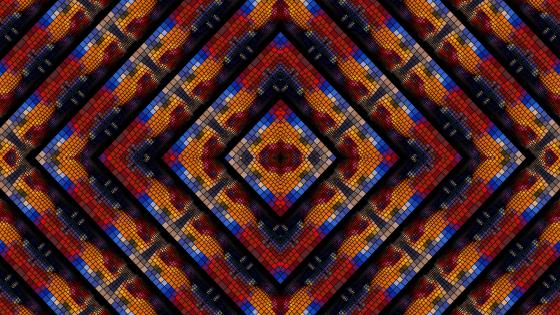 Kaleidoscope fractal wallpaper