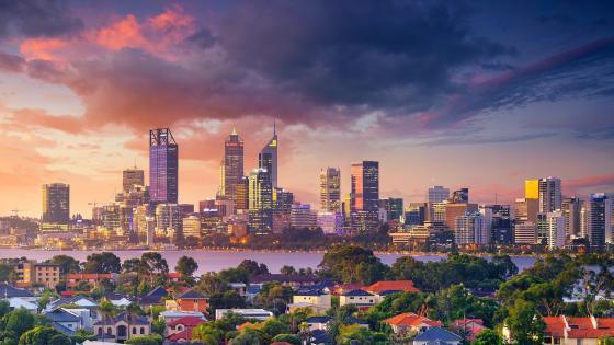 City of Perth wallpaper