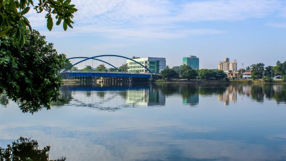 Kotte Bridge - Sri Lanka wallpaper