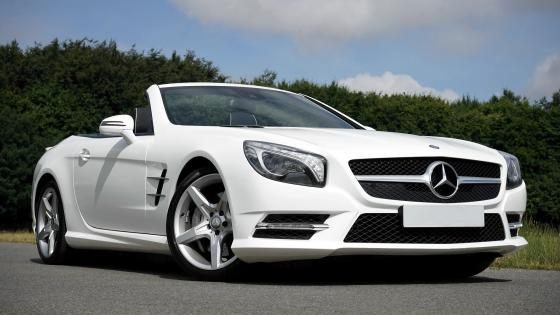Mercedes Benz Convertible wallpaper