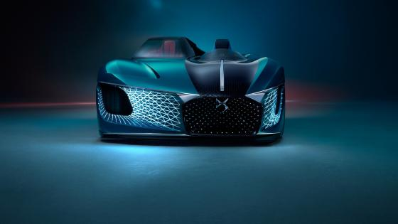 Citroen DS X E-Tense concept car wallpaper