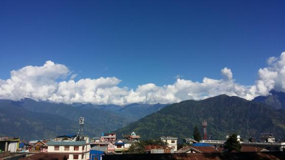 Small Town Taplejung Nepal wallpaper