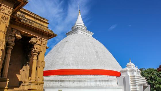 Stupa, Kelaniya Temple wallpaper