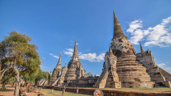 Ayutthaya Historical Park wallpaper