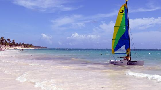 Beach of Punta Cana wallpaper