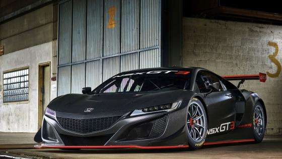 NSX GT3 wallpaper
