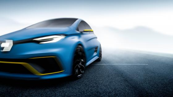 Renault ZOE E Sport concept car wallpaper
