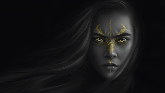 Warrior woman wallpaper