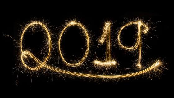 2019 New year wallpaper