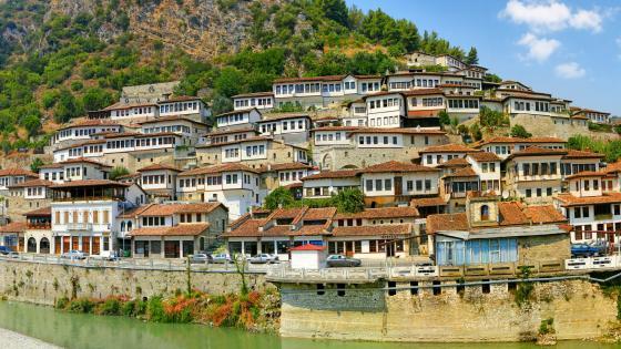 Berat (Albania) wallpaper