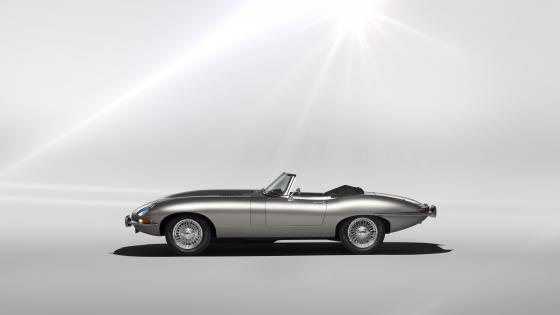 Jaguar Classic E-Type Zero wallpaper