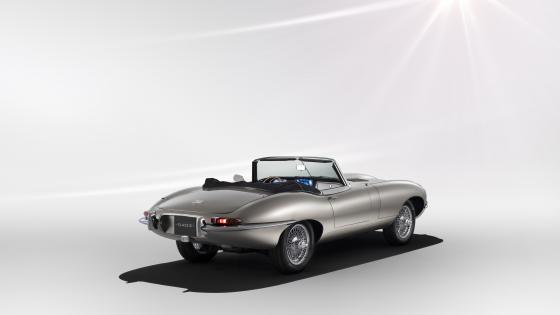 Jaguar E-Type Zero electric car wallpaper
