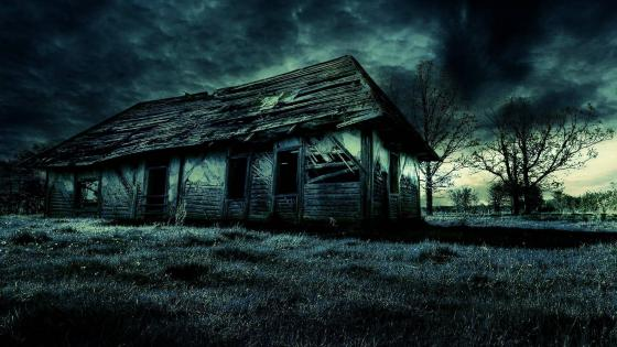 Abandoned house wallpaper