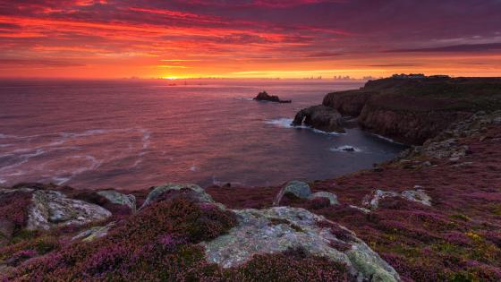 Land's End, Cornwall wallpaper