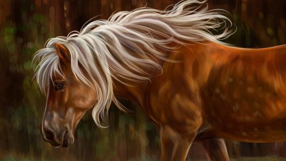 Horse Painting Art wallpaper