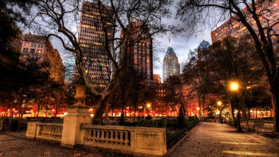 Rittenhouse Square wallpaper