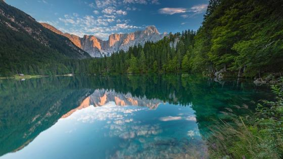 Laghi di Fusine wallpaper