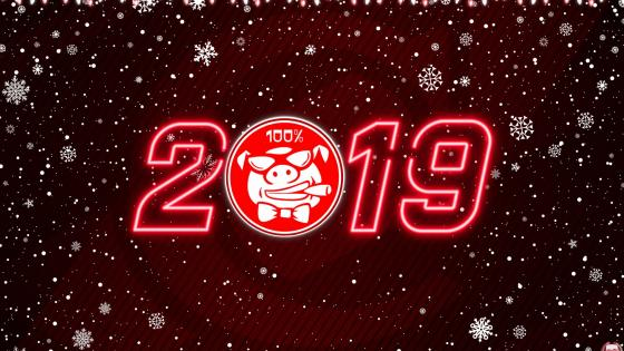 2019 Year Of Pig wallpaper