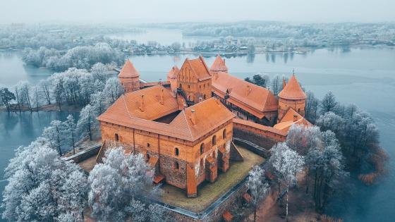 Trakai Island Castle wallpaper