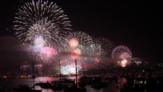 Fireworks in Sydney, Australia wallpaper