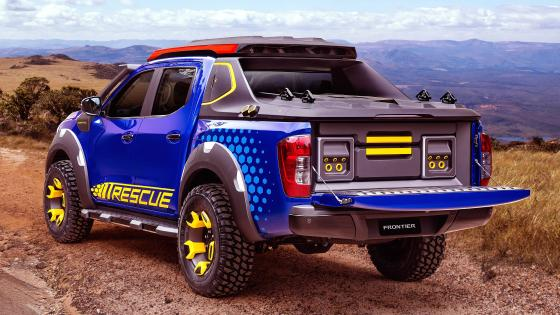 Nissan Concept 2018 Sentinel Frontier Pickup Blue wallpaper