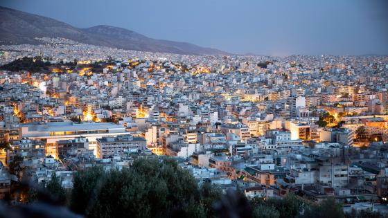 Athens Cityscape wallpaper