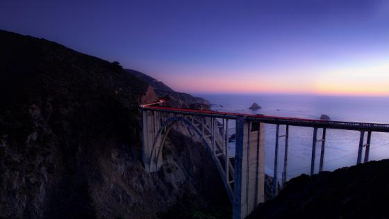 Bixby Creek Arch Bridge wallpaper