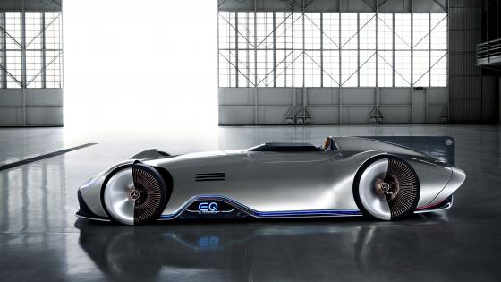 Mercedes-Benz Vision EQ Silver Arrow wallpaper