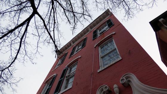 Old Building Facade wallpaper