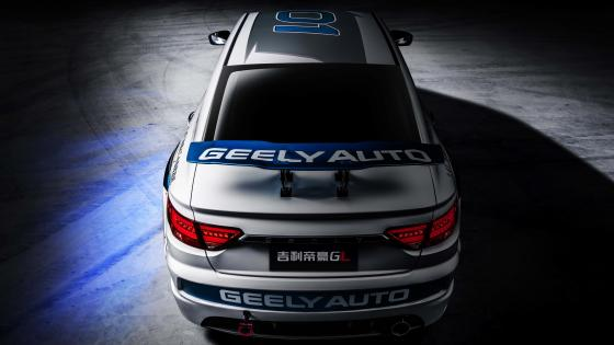Geely Emgrand GL rear view wallpaper