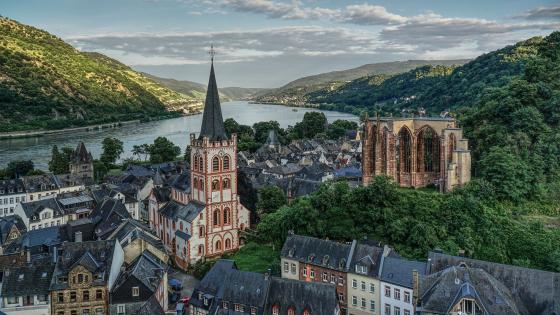Bacharach (Germany) wallpaper