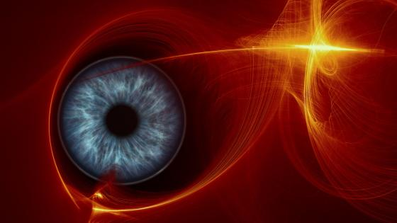 Reflecting Eye wallpaper