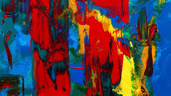 Colorful abstract painting art wallpaper