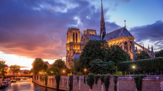 Notre-Dame Cathedral wallpaper