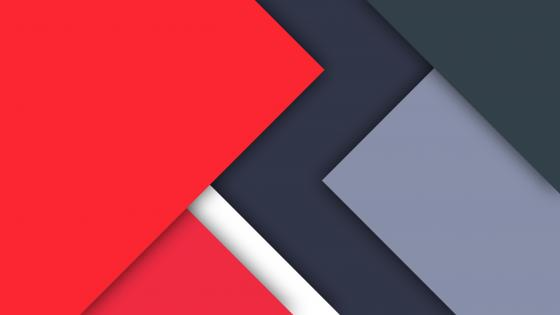 Red and grey material design wallpaper