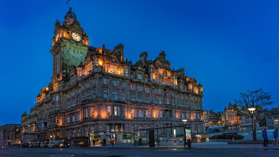 The Balmoral, Edinburgh wallpaper