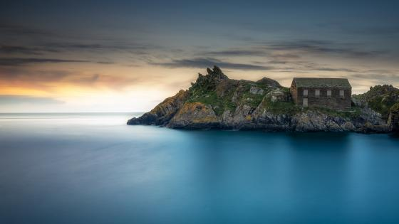 Polperro Beach wallpaper
