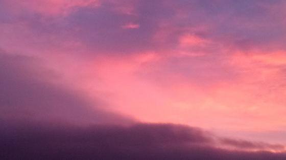 Pink sky wallpaper
