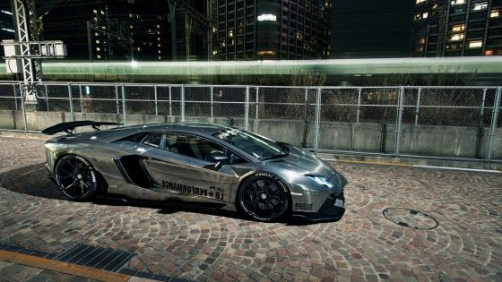 Liberty Walk Lamborghini Aventador wallpaper