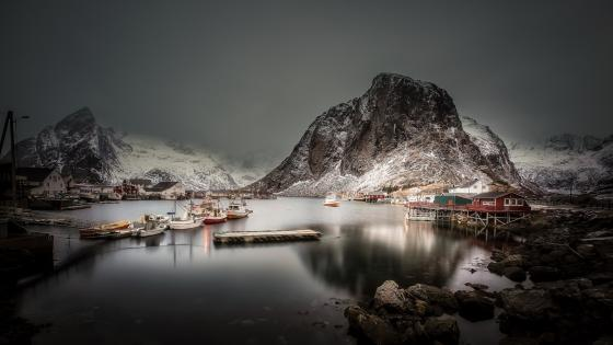 Hamnoy wallpaper